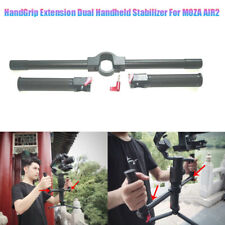 Aluminum Alloy Dual HandGrip Extension Handheld Stabilizer For MOZA AIR2 Gimbal
