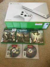 New Sealed xbox one s 1tb Bundle Gear War Final Fantasy Dark Soul RE