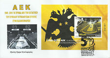 Greece 2018 - Aek basketball-2 Fdc's with numbered mini sheet-unofficial (04147)