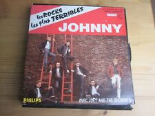 JOHNNY HALLYDAY ..coffret numerote ..LES ROCKS LES PLUS TERRIBLES .3 DISQUES