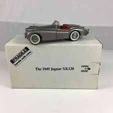 Boxed Danbury Mint 1949 Jaguar XK120 Silver