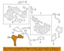 HONDA OEM 16-17 Civic Turbocharger Turbo-Oil Return Cover 189025AAA00