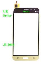 SAMSUNG Galaxy J3 J320 J310 2016 ORO Digitalizzatore Touch Screen vetro mobili + Strumenti