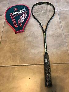 Vintage Dunlop Airfoil XS Flex Tech 14 Squash Racquet w/ case  NEW Camouflage