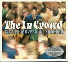 THE IN CROWD - 2 CD BOX SET - SIXTIES MOVERS 'N' SHAKERS, HARLEM SHUFFLE & MORE