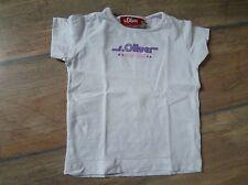 """T-Shirt weiss """"stargirl"""" Gr. 92 / 98 S.OLIVER einfach süß f. Mädchen"""