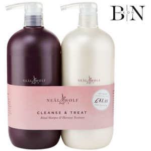 Neal and Wolf Cleanse & Treat Shampoo & Conditioner 950ml DUO (GENUINE)