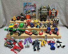 Hasbro Transformers BotBots Rescue Bots Transforming Figure Mixed Toy Lot 25+ Pc