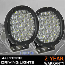 PAIR 9inch 58600W NEW CREE LED Work Driving Lights Spot light Offroad HID