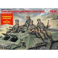 ICM 35637 - 1/35 Soviet Armored Carrier Riders (1979-1991), plastic model kit