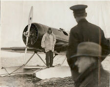 CHARLES LINDBERGH - HISTORIC WIRE SERVICE PHOTO 1933 - 2