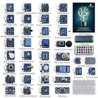 SunFounder 37 modules Arduino Sensor Kit V2.0 for Arduino UNO R3 Mega2560 Nano
