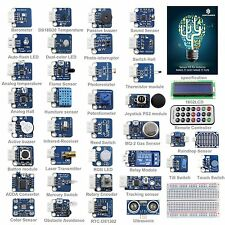 SunFounder 37 modules Arduino Sensor Kit V2.0 for Arduino UNO R3 Mega2560 Nano