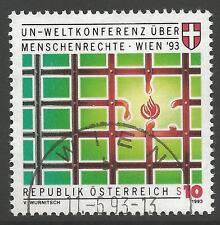 AUSTRIA SG2352 1993 HUMAN RIGHTS FINE USED