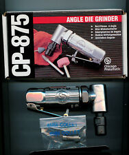 "Chicago Pneumatic CP-875 Mini Angle Air Die Grinder with 1/4"",6MM collet, Taiwan"