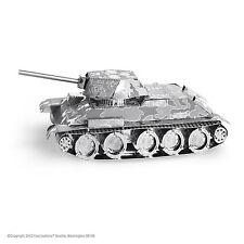 Metal Earth Soviet T-34 Tank Laser Cut 3D Model Kit