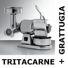 TRITACARNE GRATTUGIA semi-professionale con sicurezza TG8 Carne Pane Formaggio