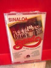 SINALOA BAND No Tiene Vuelta De Hoja cassette tape NEW Unisono Records 1990