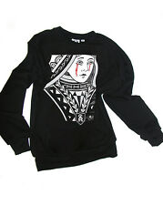 ee05486663d3 Crying Queen Of Hearts Mary Madonna Unisex Sweatshirt - XS, S, M, L