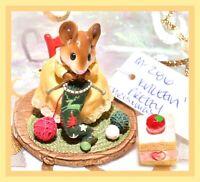 ❤️Wee Forest Folk M-286 Knittin' Pretty Knitting Christmas Stocking Yellow❤️