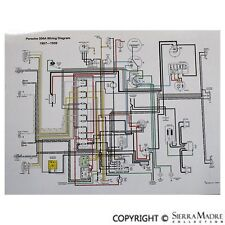 sierra madre collection ebay stores 1958 porsche truck full color wiring diagram, porsche late 1957 1959 356a(t2)