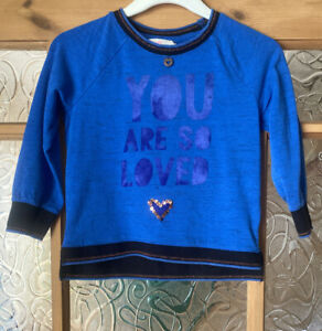 """Mim-pi Girls Top """"You Are So Loved"""" Size 98 Age 3"""
