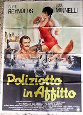 manifesto movie poster 4F POLIZIOTTO IN AFFITTO CINEMA RENT A COP JERRY LONDON