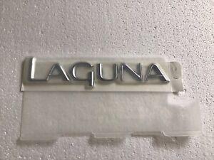 Genuine New RENAULT LAGUNA BOOT BADGE Tailgate Emblem For Mk2 2001-2004 dCi 16V