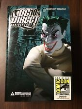 SDCC 2008 Exclusive JOKER 10th Anniversary DC Direct Limited Edition Sealed