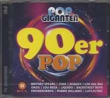 POP GIGANTEN - 90ER POP * NEW 2CD'S 2018 * NEU *
