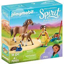 PLAYMOBIL 70122 - Spirit Riding Free - Pru mit Pferd und Fohlen