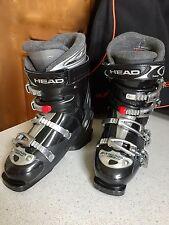 HEAD EZON 9.5 Ladies Ski Boots, Size 24/24.5 (size 5/5.5UK) & Carry Bag (Bundle)