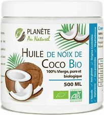 Huile de Coco Bio 500 ml Naturel Vierge Pure et Biologique