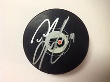 Tyrell Goulbourne Signed Autographed Philadelphia Flyers Hockey Puck a