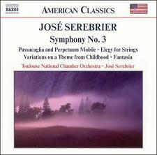 José Serebrier: Symphony No. 3 and other works, New Music