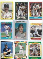 Wade Boggs Red Sox Lot of (30) Different w/ 1983 Fleer Rookie #179 HOF NMint