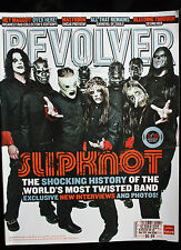 REVOLVER MAGAZINE SLIPKNOT 1 OF 10 COVERS NOV 2008 GROUP PHOTO