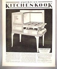 American Kitchenkook Stove / Range PRINT AD - 1930 ~~ oven, Gas Machine