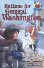 Buttons for General Washington (On My Own History)-ExLibrary