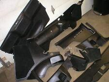 1982-92 CAMARO FIREBIRD BLACK REAR CARGO PLASTICS INTERIOR TRIM GM ORIGINAL 91