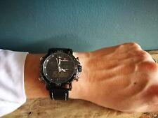 SALE Men's large Black sports watch digital