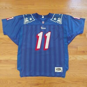 Vintage Wilson Drew Bledsoe New England Patriots Authentic NFL Team Jersey Sz 50