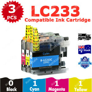 3x Compatible Ink LC233 LC231 Colour For Brother MFC 680DW J5720DW DCP J4120DW