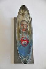 Kosta Boda Bertil Vallien -boat Silver- sign& num lim Kunstobjekt NEU unbenutzt