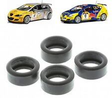 New Scalextric Spares W9285 Front & Rear Tyres Set For Seat Leon Touring Cars