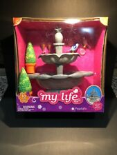 My Life as Doll Water Fountain Accessories Toy American Girl Kids Really Works