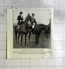 1922 Capt And Mrs Noel Newton Tilton Cottesmore