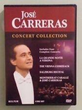 JOSE CARRERAS CONCERT COLLECTION   DVD genuine region 1