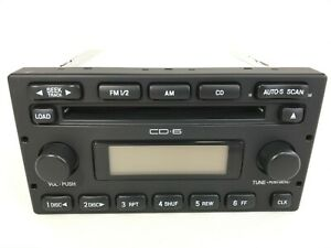 Ford Escape F150 250 350 Explorer OEM Stereo AM FM Radio 6 CD Changer 5L8T18C815