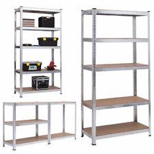 Galvanised Shelving Racking Garage Unit Boltless Heavy Duty Shelf Bay 5 Tier